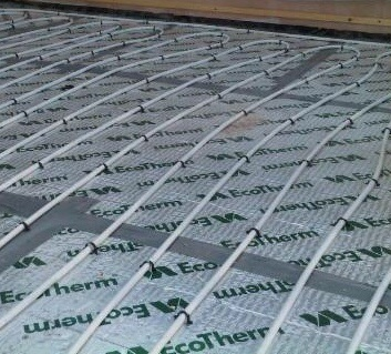 Underfloor Conservatory Heating Installation South Wales