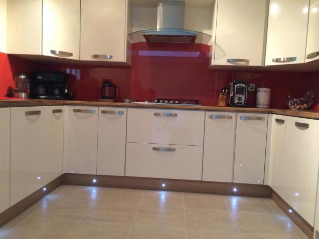Kitchen Splashback In Merthyr Tydfil South Wales